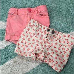 Baby gap toddler stretch jean shorts